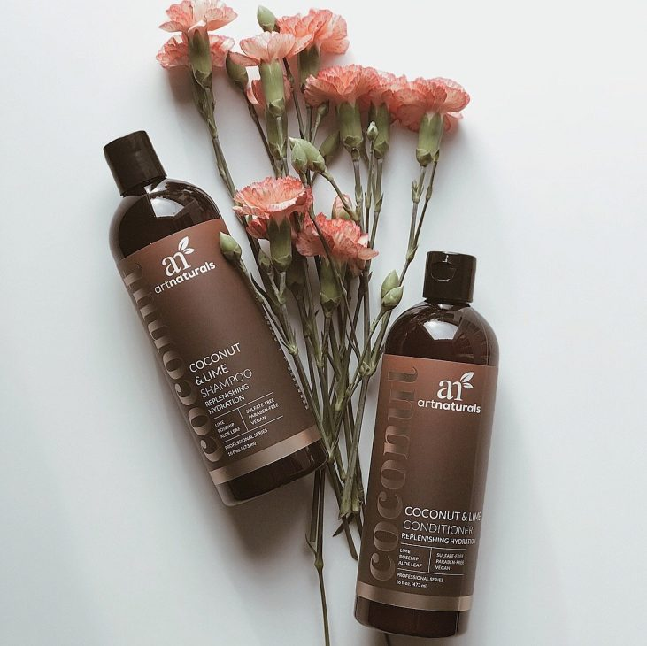 My Daily and weekly beauty routine with COCONUT & LIME SHAMPOO & CONDITIONER DUO by artnaturals